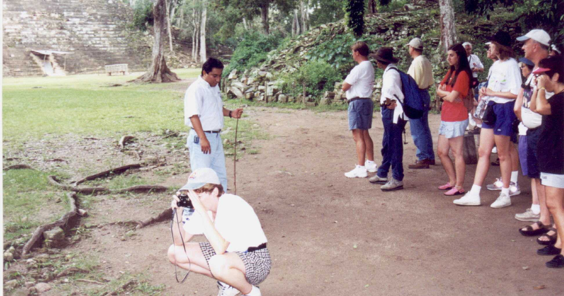 Visiting the ruins at COPAN, Honduras.jpg